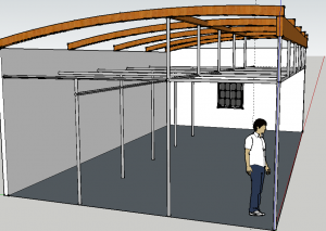 Pull Up Bars Sketchup