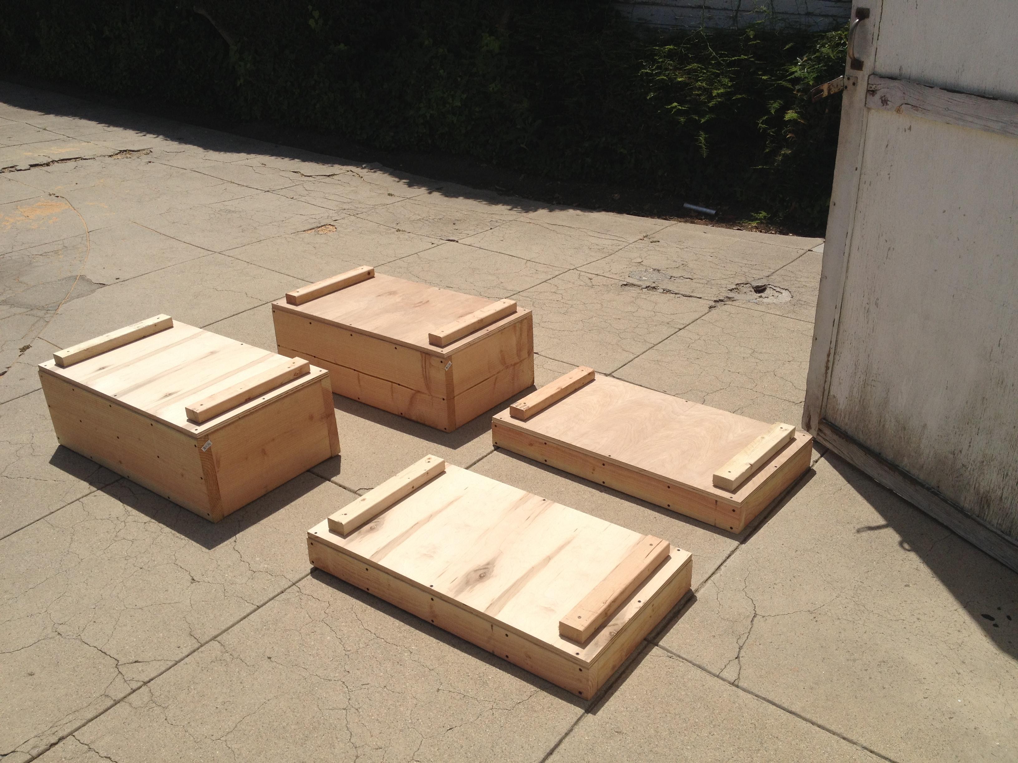 Jerk Boxes / Pulling Blocks / Jerk Blocks