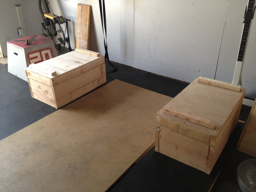Jerk Boxes / Pulling Blocks