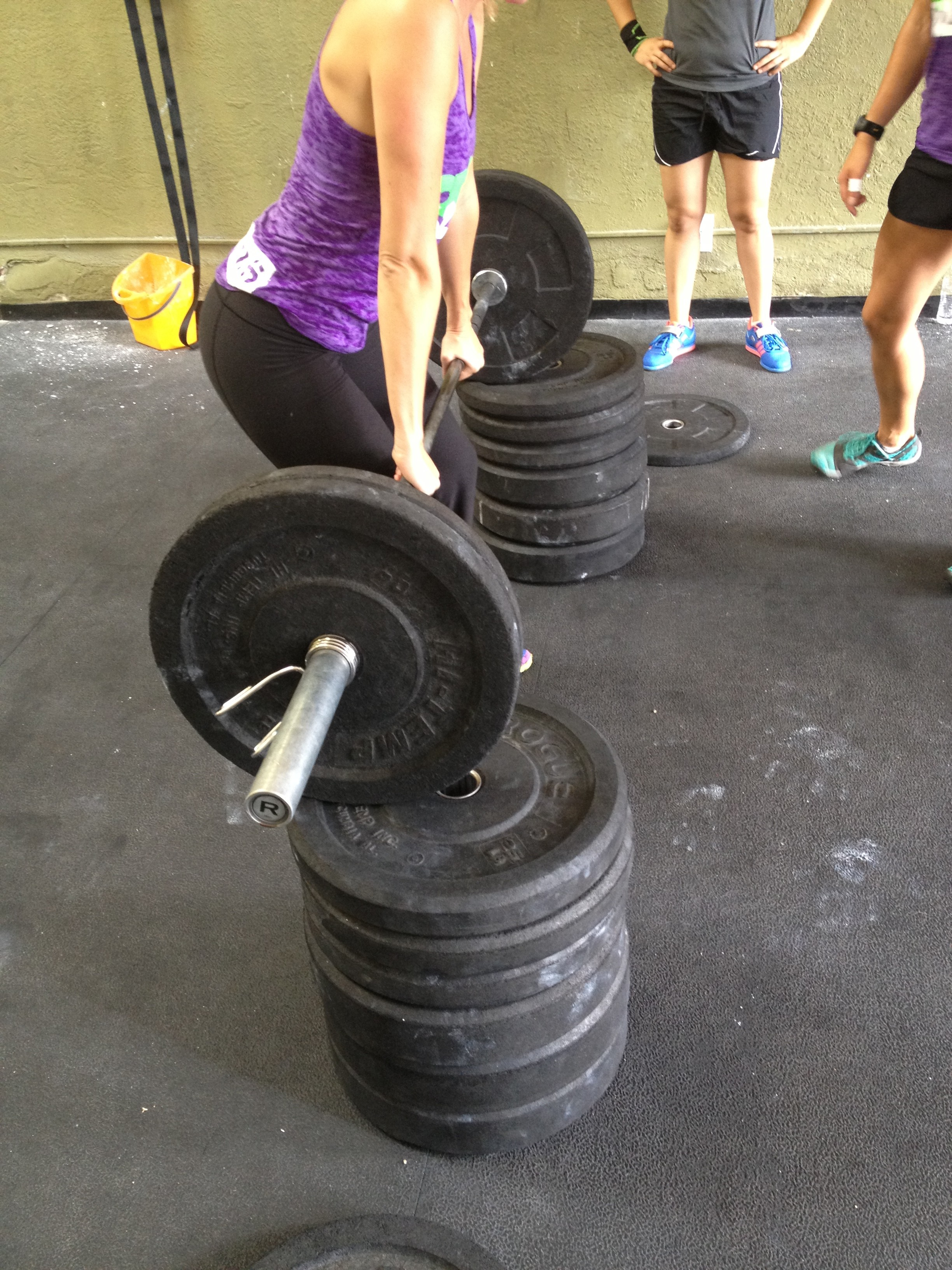Training with Pulling Blocks