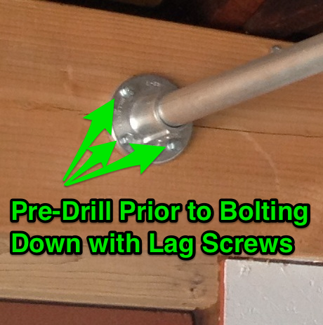 pull-up-bar-lag-screws-pre-drill