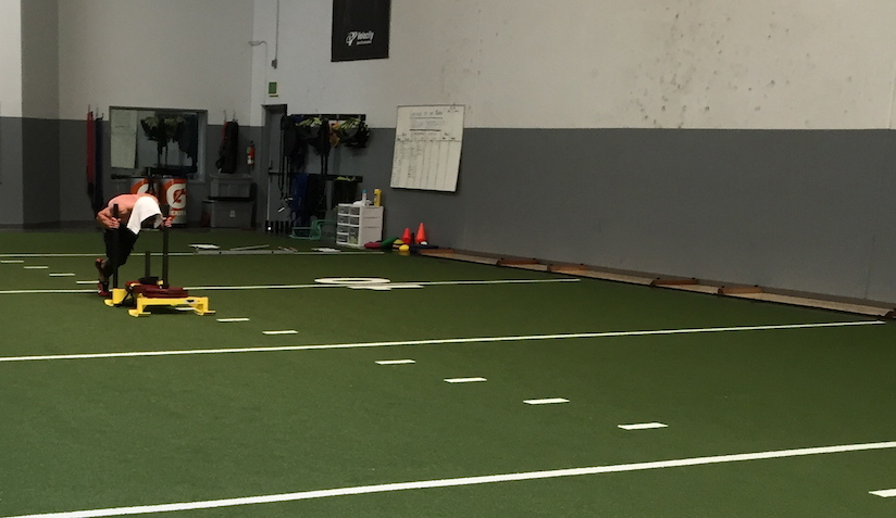 What it's Like Training NFLers