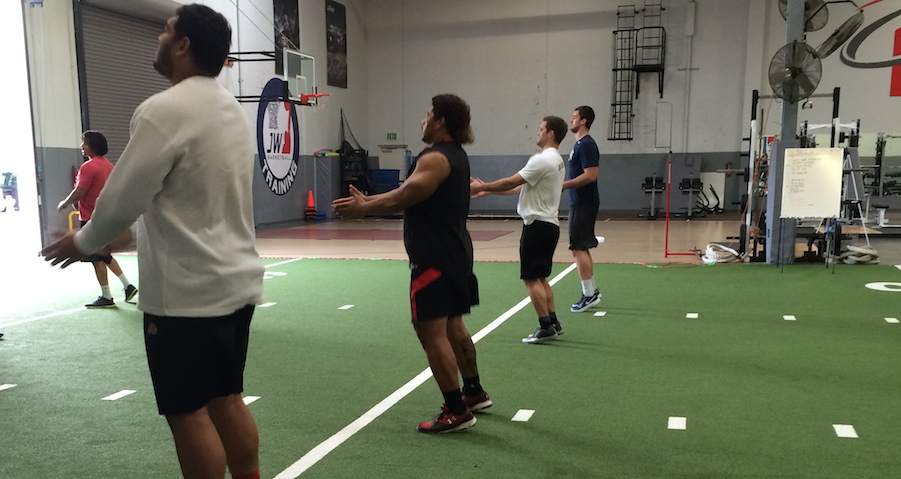 Training for the NFL Combine