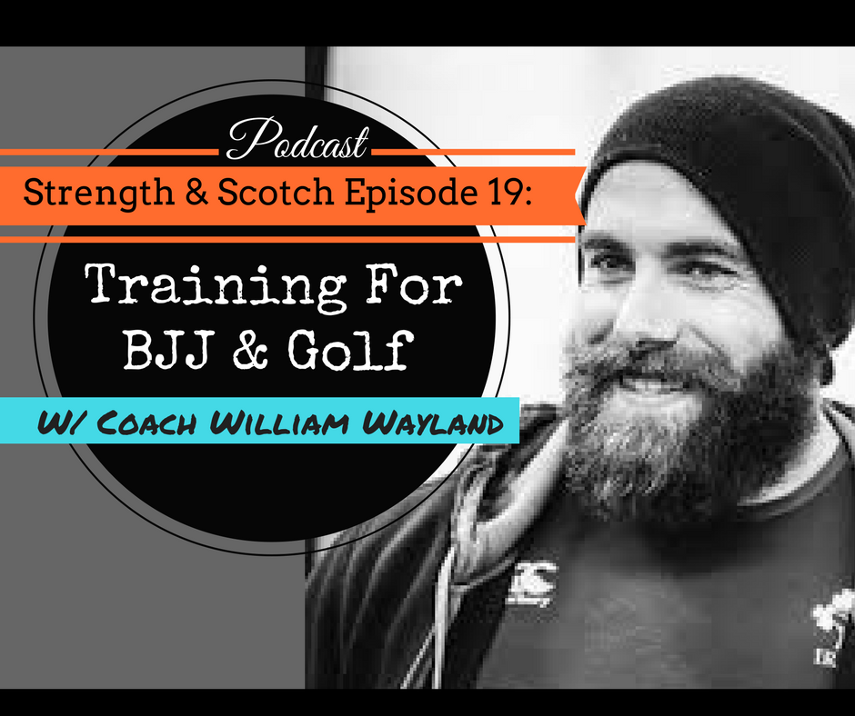 SS 019 – BJJ and Golf Training with William from Essex