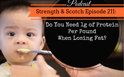 SS 211 – Do You Need 1g of Protein Per Pound When Losing Fat?