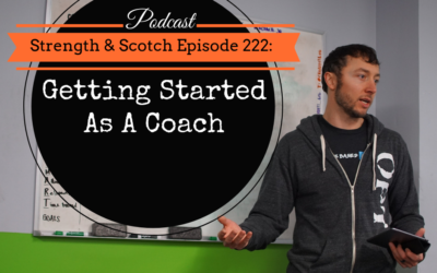 SS 222 – Getting Started As A Coach