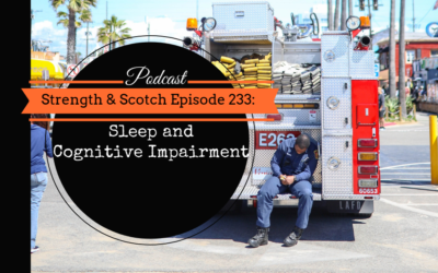 SS 233 – Sleep and Cognitive Impairment