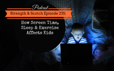 SS 235 – How Screen Time, Sleep & Exercise Affects Kids
